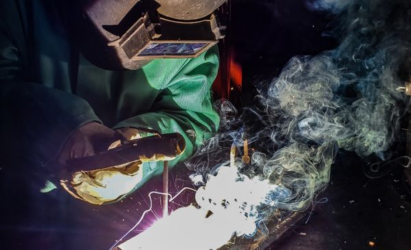 Our shocking introduction to welding in Houston, Texas.